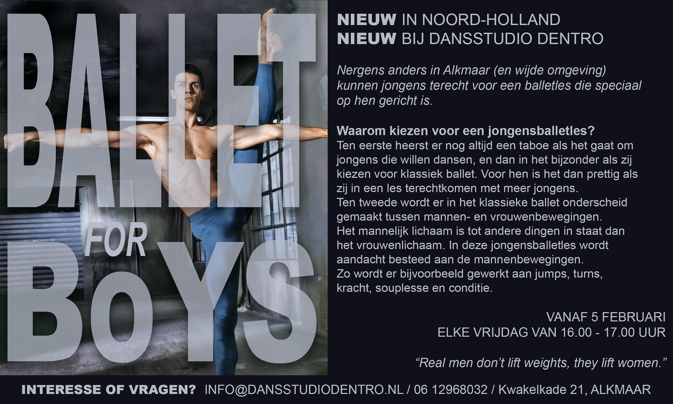 Ballet for Boys