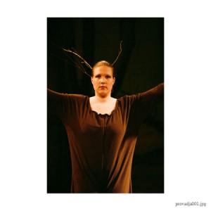 Schoolvoorstelling Dansstudio Dentro in theater Provadja 2005